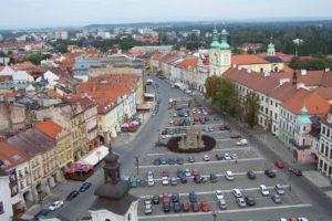 Hradec Králové Velké náměstí