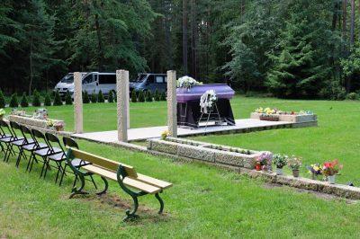 Rozptylová místo Lesní hřbitov
