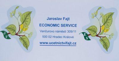 Účetnictví Hradec Králové Jaroslav Fajt – ECONOMIC SERVICE