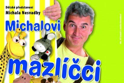 Kouzelná školka – Michalovi mazlíčci Dětské představení Michala Nesvadby