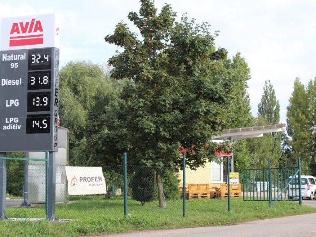 Čerpací stanice Na Rybárně
