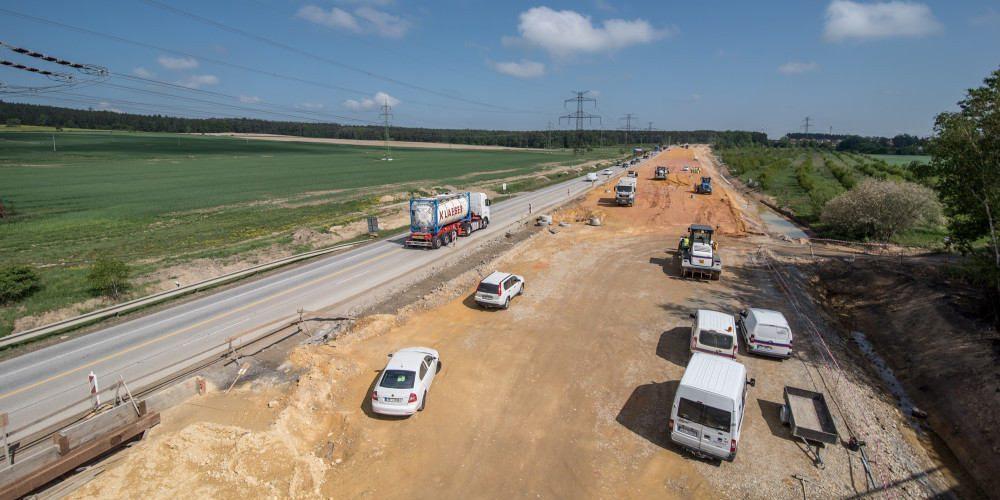 Dálnice D11 opět ve výstavbě