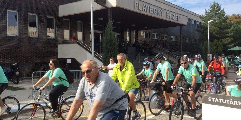 Město na kolech již tuto neděli