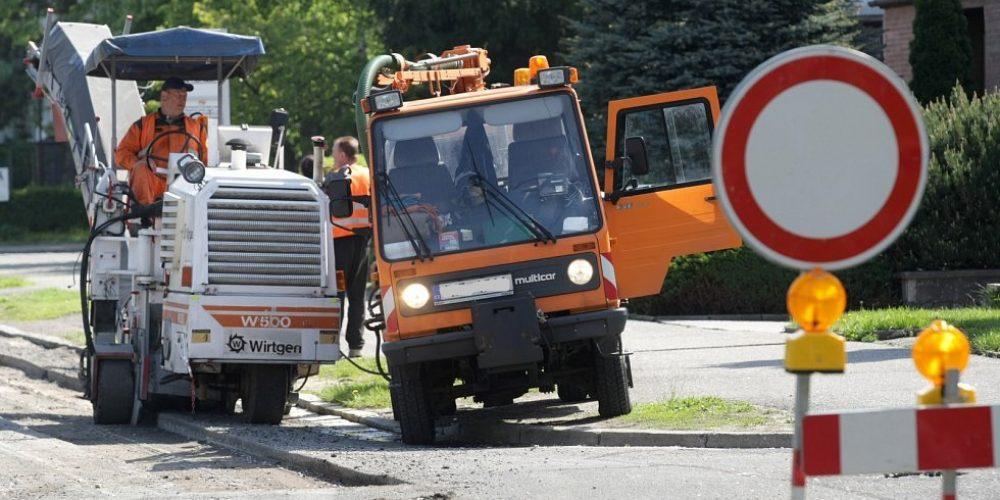 Radnice chystá opravy ulic na Novém Hradci