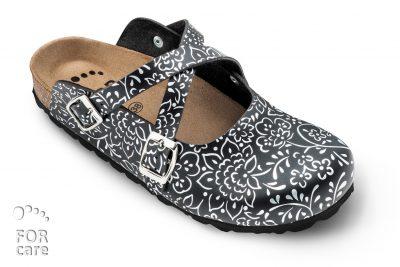 Zdravotní pantofle Forcare - plná špička